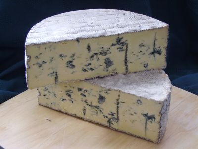 Dovevale Blue is a blue veined, white full fat soft cheese | Hartington Cheese Shop