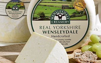 Creamy white Wensleydale cheese | Hartington Cheese