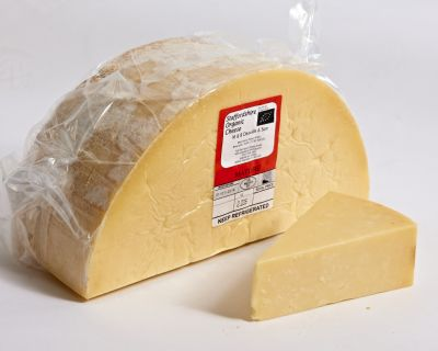 Staffordshire Organic Mature Cheddar | Hartington Cheese Shop Cheese